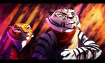 angry anthro blood chi_su duo feline female green_eyes headband kung_fu_panda male mammal master_tigress red_eyes scar stripes surprise suzamuri teeth tiger white_tiger wounded   Rating: Safe  Score: 2  User: alphashockmode  Date: January 24, 2015