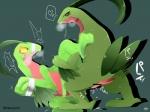 <3 anal animal_genitalia bdsm blush bound duo feral genital_slit grovyle male male/male nintendo pokémon ragujuka sex simple_background slit tears video_games  Rating: Explicit Score: 4 User: Flammie Date: May 06, 2016