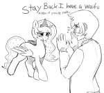 2013 bedroom_eyes clothed clothing cutie_mark dialogue duo equine female friendship_is_magic half-closed_eyes horn human male mammal mewball monochrome my_little_pony plain_background princess_luna_(mlp) royalty text tongue tongue_out white_background winged_unicorn wings   Rating: Safe  Score: 6  User: anthroking  Date: February 14, 2014