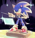 anthro black_nose bone_(artist) clothing footwear gloves green_eyes hedgehog male mammal smile solo sonic_(series) sonic_the_hedgehog suit  Rating: Safe Score: 1 User: Cane751 Date: July 01, 2016