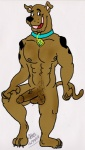 anthro anthrofied canine dog gdogg great_dane male mammal nude penis pose scooby-doo scooby-doo_(series) solo  Rating: Explicit Score: 2 User: Ketopeto Date: August 10, 2009