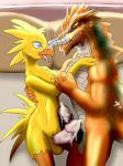 avian balls chocobo cum dark-moltres dragon duo embracing final_fantasy frottage humanoid_penis male male/male penis reptile scalie sex video_games  Rating: Explicit Score: 1 User: Untamed Date: October 11, 2015