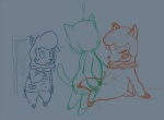 adultery animal_crossing anthro blush bulge cuckold cyrus_(animal_crossing) female feral group male nintendo nyar penetration pussy reese_(animal_crossing) sketch unfinished vaginal vaginal_penetration video_games   Rating: Explicit  Score: 2  User: Sweet.Feet  Date: November 24, 2013