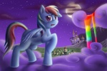 anadukune cloud crying equine female feral friendship_is_magic hair horse mammal multi-colored_hair my_little_pony night pegasus pony purple_eyes rainbow_dash_(mlp) rainbow_hair sad solo stars wings   Rating: Safe  Score: 6  User: Sods  Date: March 06, 2014