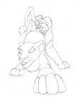 chris_mckinley cum disney eyes_closed feline female feral feral_on_feral incest lion male monochrome oral sarabi sex simba sketch straight the_lion_king   Rating: Explicit  Score: 2  User: xes  Date: November 26, 2012