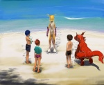 3_toes beach clothed clothing digimon dripping edit female fur group guilmon half-dressed henry_wong human humor male mammal outside renamon rika_nonaka scalie seaside swimsuit takato_matsuki terriermon toes topless wet_fur yellow_fur おしょー_(artist)  Rating: Safe Score: 22 User: tartcore Date: August 19, 2015