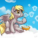 2015 cloud derpy_hooves_(mlp) equine feathered_wings feathers female feral friendship_is_magic karol_pawlinski mammal my_little_pony pegasus sitting solo wings  Rating: Safe Score: 7 User: Robinebra Date: June 23, 2015