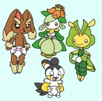 2011 babyminncino cute diaper emolga female feral leavanny lilligant lopunny nintendo pokémon video_games young   Rating: Safe  Score: 2  User: letmerok  Date: June 22, 2013