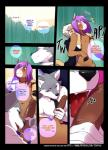 anthro balls big_penis canine close-up clothed clothing comic deckland_(tokifuji) english_text equine erection fangs first_person_view gavin_(tokifuji) group group_sex half-closed_eyes handjob hi_res horse humanoid_penis licking looking_at_viewer male male/male mammal mustelid nude open_mouth oral penis penis_lick reggie_(tokifuji) saliva sex smile teeth text threesome tokifuji tongue tongue_out weasel wolf  Rating: Explicit Score: 35 User: EmoCat Date: January 17, 2016