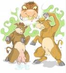 anthro balls bovine cattle dickgirl facial_hair group intersex kuma male mammal penis sheath teats transformation udders   Rating: Explicit  Score: 1  User: Rugertaur  Date: August 17, 2014