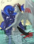 2014 anthro areola breasts caliber cartoon duo equine erect_nipples fan_character female friendship_is_magic horn horse male male/female mammal my_little_pony nipples pegasus penetration princess_luna_(mlp) sex threewontoo winged_unicorn wings   Rating: Explicit  Score: 0  User: slyroon  Date: April 23, 2015
