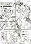 adelbert anthro clothed clothing comic date_natsuku duo greyscale japanese_text keil_kupfer kissing lizard male male/male monochrome reptile scalie text tongue tongue_out translation_request uniform   Rating: Safe  Score: 0  User: TravelingBird  Date: March 15, 2015