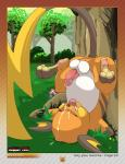 2015 after_sex anus balls chubby cum cum_in_mouth cum_inside cum_on_face cum_on_self feral forest hi_res male melkiah nintendo open_mouth outside pawpads paws penis pokémon raichu saliva solo tongue tongue_out tree upside_down vein video_games  Rating: Explicit Score: 16 User: chdgs Date: May 16, 2015