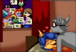 <3 aku anthro bed being_watched bentley blue_hair blush breasts canine carmelita_fox cat caught crossover eyewear feline female fox glasses group hair hippopotamus humor male male/female mammal mouse murray neyla penelope_(sly_cooper) raccoon reptile rodent samurai_jack scalie score sex sly_cooper sly_cooper_(series) turtle verona7881 video_games  Rating: Questionable Score: 21 User: Gayboibunny Date: November 21, 2012