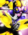 <3 arthropod balls big_breasts big_penis black_skin blue_skin breast_squish breasts comic dickgirl dickgirl/female female gape_hole insect intersex intersex/female nipples penis pussy pussy_juice queen_sectonia saesar slap wasp wet_pussy yellow_skin  Rating: Explicit Score: 1 User: saesar Date: November 25, 2015