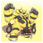 2_tails 3_toes 5_fingers armpit_hair ball_tuft belly blackstripes body_hair cum dogfu electivire foreskin front_view fur happy_trail hi_res humanoid_penis leaking long_tail looking_at_viewer male moobs multi_tail nintendo nipples nude obese overweight penis pokémon pokémon_(species) precum presenting pubes red_eyes red_penis simple_background smile solo tail_penis toes uncut video_games yellow_background yellow_furRating: ExplicitScore: 6User: RimeyDate: January 14, 2018