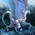 2015 anus blue_eyes butt claws digitigrade dragon feathered_wings feathers female feral fur horn looking_back open_mouth pointy_ears presenting presenting_hindquarters pussy scalie snow solo tail_tuft tuft wings winter zerolativity   Rating: Explicit  Score: 53  User: Numeroth  Date: May 08, 2015