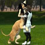 3d_(artwork) angry_cat anthro breasts cat cgi chakat digital_media_(artwork) feline felitaur female fur hug kissing mammal nipples nude outside taur  Rating: Questionable Score: 2 User: Angry_CAT Date: August 09, 2015