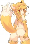 2017 ? animal_humanoid anus blonde_hair blush bottomless butt canine clothed clothing female fox fox_humanoid fur hair humanoid looking_at_viewer mammal moonlight_flower open_mouth pussy ragnarok_online red_eyes simple_background solo standing tsuderou video_games white_background yellow_furRating: ExplicitScore: 3User: GranberiaDate: May 27, 2017