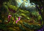 2015 absurd_res basket blue_eyes cloud cragadile crocodile cutie_mark equine everfree_forest female flower fluttershy_(mlp) forest friendship_is_magic hair hat hi_res jowybean mammal mountain my_little_pony pegasus pink_hair plant reptile safari_hat scalie swamp tree wings   Rating: Safe  Score: 4  User: 2DUK  Date: May 17, 2015