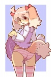 blush brown_eyes canine clothing cub dog dress dress_lift female hair kemono loli mammal open_mouth panties pink_hair skirt solo twintails_(disambiguation) underwear young きん   Rating: Questionable  Score: 10  User: KemonoLover96  Date: May 02, 2015