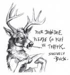 2018 absurd_res angry anthro antlers black_and_white cervid english_text hi_res hooves horn kenket looking_down male mammal monochrome pen reaction_image reading simple_background sketch solo standing text traditional_media_(artwork) white_backgroundRating: SafeScore: 19User: TheGreatWolfgangDate: May 11, 2018