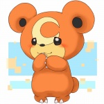 2014 ambiguous_gender anthro barefoot bear blush claws cute fur happy mammal nintendo nude pokémon raised_arm round_ears smile solo standing teddiursa toe_claws unknown_artist video_games   Rating: Safe  Score: 1  User: forkU  Date: April 14, 2014