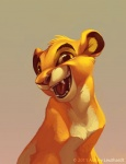 2011 cub disney fangs feline feral fur gradient_background katanimate lion looking_at_viewer male mammal open_mouth simba simple_background smile solo the_lion_king tongue yellow_eyes yellow_fur young  Rating: Safe Score: 17 User: corgi_bread Date: April 24, 2013