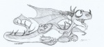 dragon erection feral how_to_train_your_dragon lying male on_side open_mouth penis plain_background sefeiren sketch solo terrible_terror tongue tongue_out white_background   Rating: Explicit  Score: 6  User: Greath  Date: June 20, 2013