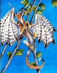 2012 ambiguous_gender black_scales branch brown_eyes dragon feral heather_bruton leaf membranous_wings orange_scales scales solo white_scales wings yellow_scalesRating: SafeScore: 0User: ClawstripeDate: September 23, 2017