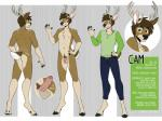 2018 2_toes 5_fingers anthro antlers balls belt biped bottomwear cam_hartley capreoline cervid chest_tuft clothed clothing digital_drawing_(artwork) digital_media_(artwork) english_text erection fingers flaccid foreskin full-length_portrait fully_clothed fur hair hooves horn humanoid_penis jeans looking_at_viewer male mammal model_sheet nipples nude off/on pants penis portrait pubes salkitten shirt simple_background smile solo standing text toes topwear tuft uncut white_fur white-tailed_deerRating: ExplicitScore: 3User: AlricKyznetsovDate: August 17, 2019