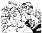 2007 anthro big_breasts black_and_white bovine breast_grab breasts cattle club dutch female gnome goblin horn humanoid male mammal monochrome nipples nude ogre tauren video_games warcraft weapon world_of_warcraft   Rating: Questionable  Score: 0  User: Derpilicious  Date: February 27, 2013
