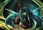 2015 changeling female feral friendship_is_magic hi_res lovelyneckbeard my_little_pony queen queen_chrysalis_(mlp) royalty solo  Rating: Safe Score: 17 User: Robinebra Date: March 23, 2015