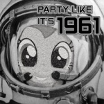 1961 astronaut equine female friendship_is_magic horse my_little_pony pinkie_pie_(mlp) pony russian solo spacesuit unknown_artist yuri_gagarin   Rating: Safe  Score: 1  User: Skiltaire  Date: April 12, 2011