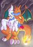 anal anal_penetration anthro balls big_dom_small_sub blush cave charizard chest_tuft claws cum cum_in_ass cum_inside cumshot dragon drooling duo erection fire fur gs-fox male male/male nintendo on_top open_mouth orgasm penetration penis pokémon saliva scalie sex size_difference sucking tears tongue tongue_out tuft video_games wings zangoose  Rating: Explicit Score: 5 User: UNBERIEVABRE! Date: November 29, 2014