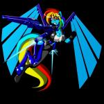 2011 alpha_channel animewave anthro anthrofied breasts cleavage clothed clothing cyborg equine female flying friendship_is_magic gloves gun hair jet_pack mammal multicolored_hair my_little_pony plain_background rainbow_dash_(mlp) rainbow_hair ranged_weapon solo transparent_background weapon   Rating: Safe  Score: 1  User: 2DUK  Date: May 04, 2015