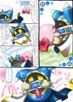 """blush box_xod clothing comic cute erection japanese_text kirby kirby_(series) kissing magolor male nintendo not_furry open_mouth penis text translation_request video_games  Rating: Explicit Score: 6 User: nightwolf000 Date: June 07, 2015"""""""