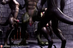 2018 3d_(artwork) abs animated anthro ball_grab balls barefoot biceps bound claws cock_and_ball_torture digital_media_(artwork) digitigrade dinosaur erection flaccid forced group humanoid_penis long_playtime male male/male masturbation multiple_scenes muscular muscular_male nipple_pinch nipples no_sound nude patreon pecs penis pinch quads rape raptor scalie sharp_teeth size_difference tailsup4tyranno tease_and_denial teasing teeth theropod torture tyrannosaurus_rex url