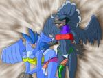 avian blush condom dark-moltres dickgirl dickgirl/dickgirl duo filled_condom intersex intersex/intersex nintendo penis pokémon red_eyes video_games  Rating: Explicit Score: 1 User: Untamed Date: September 23, 2015