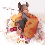 2016 ambiguous_gender animal_humanoid butt cheese female female_focus feral flower food fork fruit fur grey_hair group hair humanoid kneeling kyuritizu looking_at_viewer mammal micro mouse mouse_humanoid nazrin no_underwear open_mouth plant plate red_eyes rodent solo_focus touhou upskirt white_furRating: QuestionableScore: 8User: GranberiaDate: March 02, 2018
