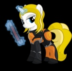alpha_channel blonde_hair blue_eyes crossgender crossover crowbar equine female feral gordon_freeman hair half-life horn levitation looking_at_viewer magic mammal my_little_pony shadow simple_background solo transparent_background unicorn unknown_artist video_games  Rating: Safe Score: 6 User: corbie Date: October 23, 2012