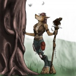 4_toes canine druid female magic_user mammal neon_(artist) peaceful plain_background scenery solo standing tree tribal_spellcaster video_games warcraft were werewolf wood worgen world_of_warcraft   Rating: Safe  Score: 22  User: Tarmax  Date: November 15, 2012