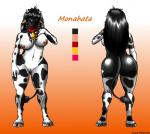 bovine breasts butt choker collar cowbell female jusu_kilappa looking_at_viewer model_sheet nude tauren video_games warcraft world_of_warcraft   Rating: Explicit  Score: 13  User: Jusu  Date: October 28, 2013