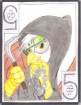 avian card cardstock chain clubs female friendship_is_magic gilda_(mlp) gryphon headband kusurigama my_little_pony ninja playing_card sickle smile solo the1king traditional_media_(artwork) weapon   Rating: Safe  Score: -3  User: The1King  Date: January 11, 2014