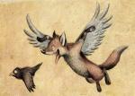 2010 ambiguous_gender avian bird canine duo feral flying fox mammal skia wings  Rating: Safe Score: 4 User: TonyLemur Date: September 20, 2010