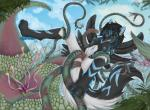 2015 anal anthro breasts canine cloud cyan_eyes female mammal nipples outside penetration pussy sekky-licious sky snowy_(yuki-the-fox) suspension tentacles vaginal wolf   Rating: Explicit  Score: 20  User: Numeroth  Date: March 15, 2015