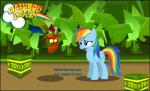 2013 aku-aku crash_bandicoot_(series) crossover english_text equine female feral friendship_is_magic horse male mammal my_little_pony pegasus pony rainbow_dash_(mlp) text video_games wings zacatron94   Rating: Safe  Score: 5  User: Robinebra  Date: December 22, 2013