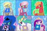 2015 bag big_macintosh_(mlp) cheerilee_(mlp) crown derp_eyes derpy_hooves_(mlp) equine female friendship_is_magic gold_(metal) green_eyes horn mammal messenger_bag mle my_little_pony necklace paper pegasus princess_cadance_(mlp) princess_celestia_(mlp) princess_luna_(mlp) sparkles valcron winged_unicorn wings  Rating: Safe Score: 11 User: 2DUK Date: June 04, 2015""