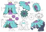 corsola mareanie model_sheet nintendo official_art pokémon pokémon_(species) purple_body video_gamesRating: SafeScore: 1User: Rad_DudesmanDate: February 13, 2018
