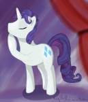 crossgender cutie_mark equine female feral friendship_is_magic horn kaczy mammal my_little_pony pose rarity_(mlp) solo unicorn   Rating: Safe  Score: 6  User: kaczy  Date: June 01, 2012